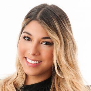 Presentadora Sara Montoya TV 7